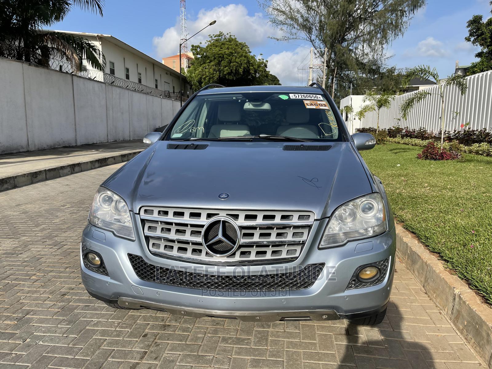 Mercedes-Benz M Class 2007 ML 350 4Matic Blue