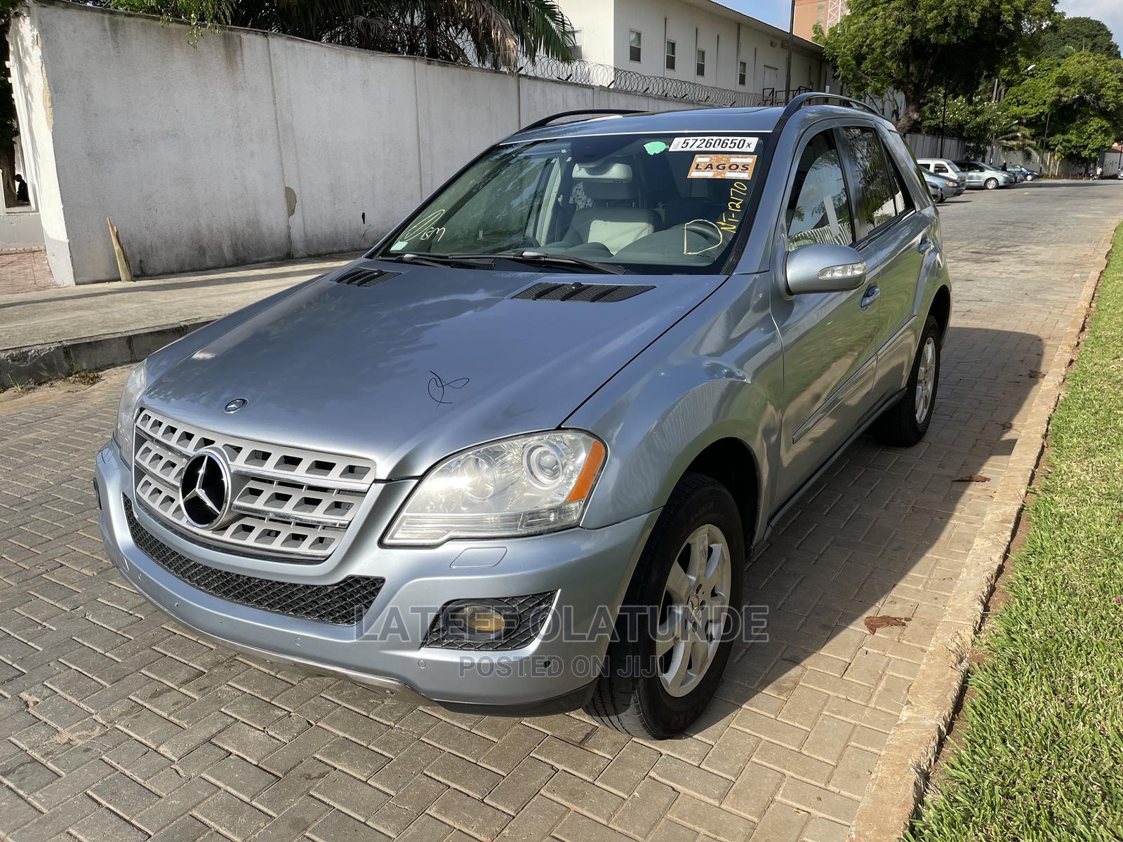 Mercedes-Benz M Class 2007 ML 350 4Matic Blue | Cars for sale in Ikoyi, Lagos State, Nigeria