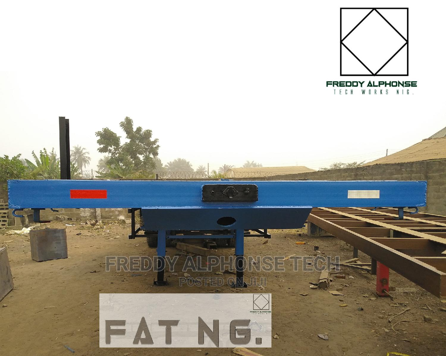40ft Trailer Flatbed Rc-80a