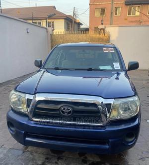 Toyota Tacoma 2008 4x4 Double Cab Blue | Cars for sale in Lagos State, Surulere