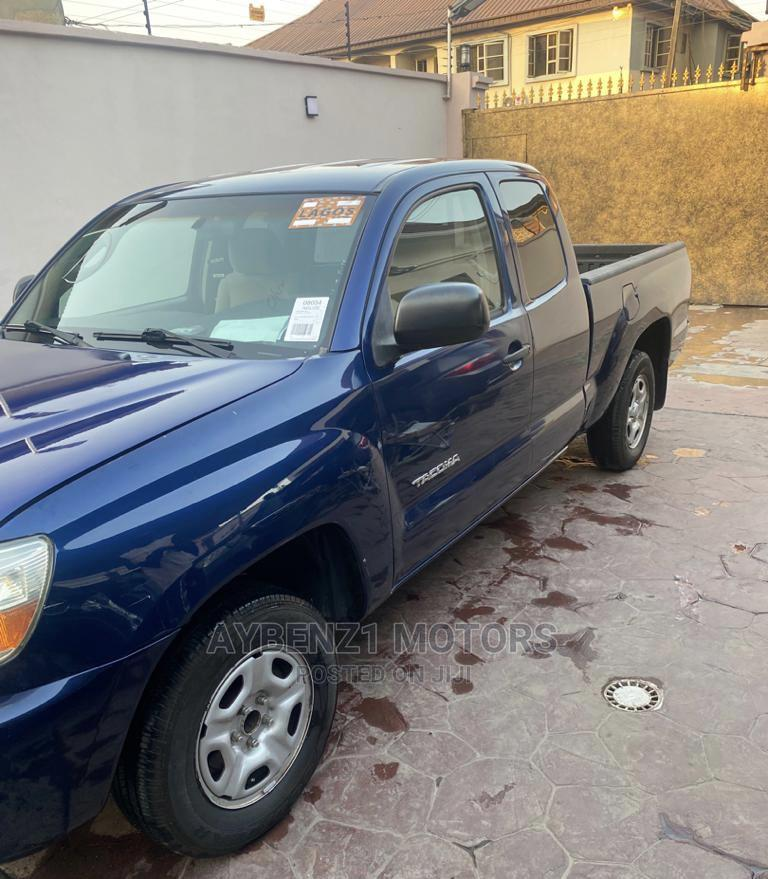 Toyota Tacoma 2008 4x4 Double Cab Blue   Cars for sale in Surulere, Lagos State, Nigeria