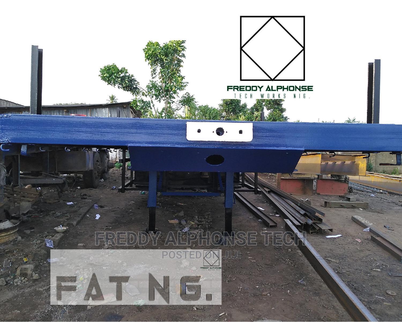 40ft Trailer Flatbed Ec-85a