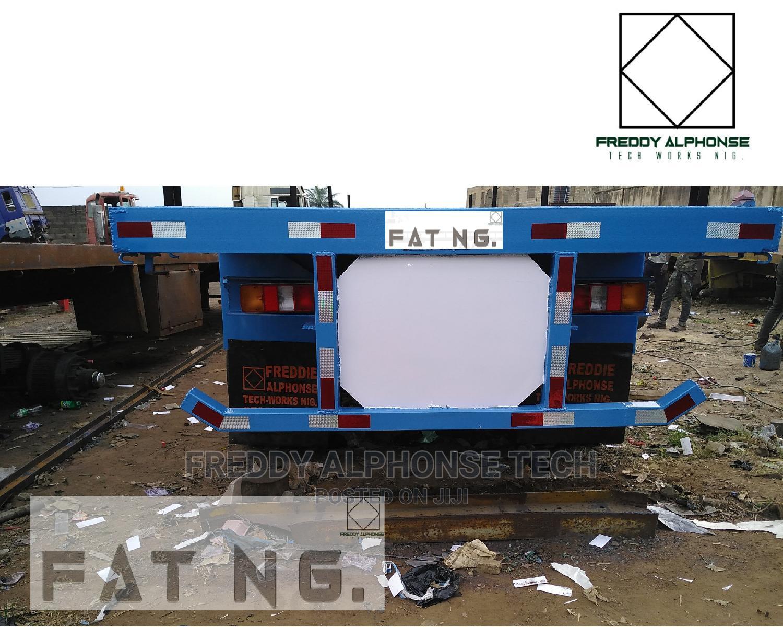 40ft Trailer Flatbed Rc-80c