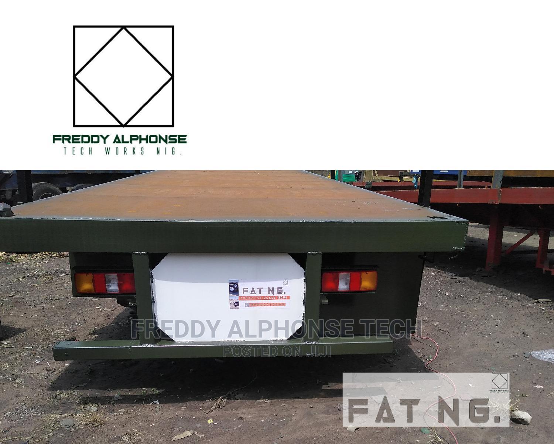 40ft Trailer Flatbed Rc-70c