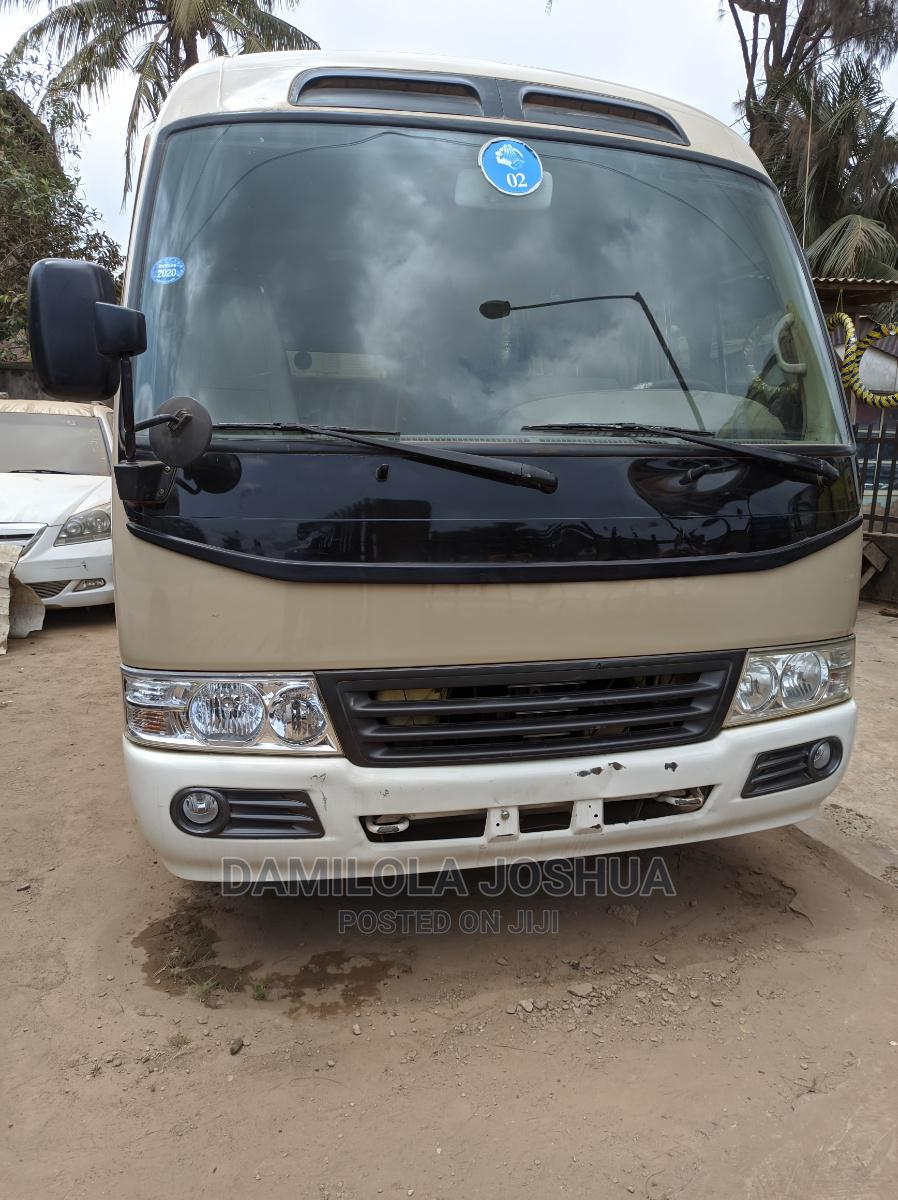 Clean Title Tokunbo Foreign Used 2012 Toyota Coaster Bus