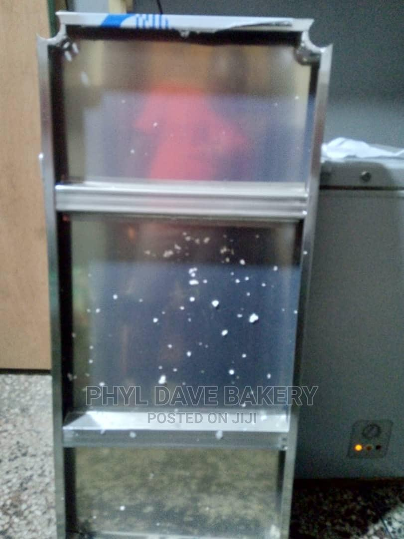 Archive: Stainless Steel 4ft Working Table With Back