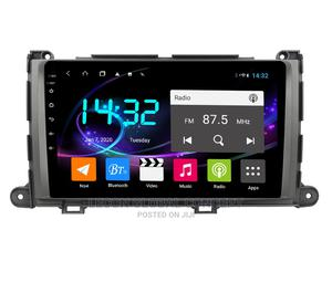 Sienna 09-14 Andriod Radio With Reverse Camera | Vehicle Parts & Accessories for sale in Lagos State, Mushin