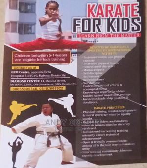 Train With the Karate Masters | Fitness & Personal Training Services for sale in Edo State, Benin City
