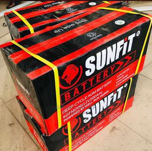 200ah Sunfit Deep Cycle Battery   Solar Energy for sale in Lagos State, Ikeja