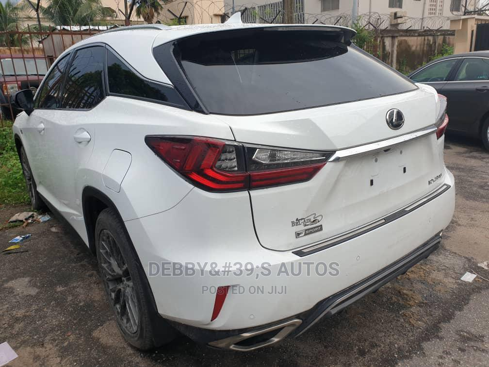 Lexus RX 2019 350  F Sport AWD White   Cars for sale in Ajah, Lagos State, Nigeria