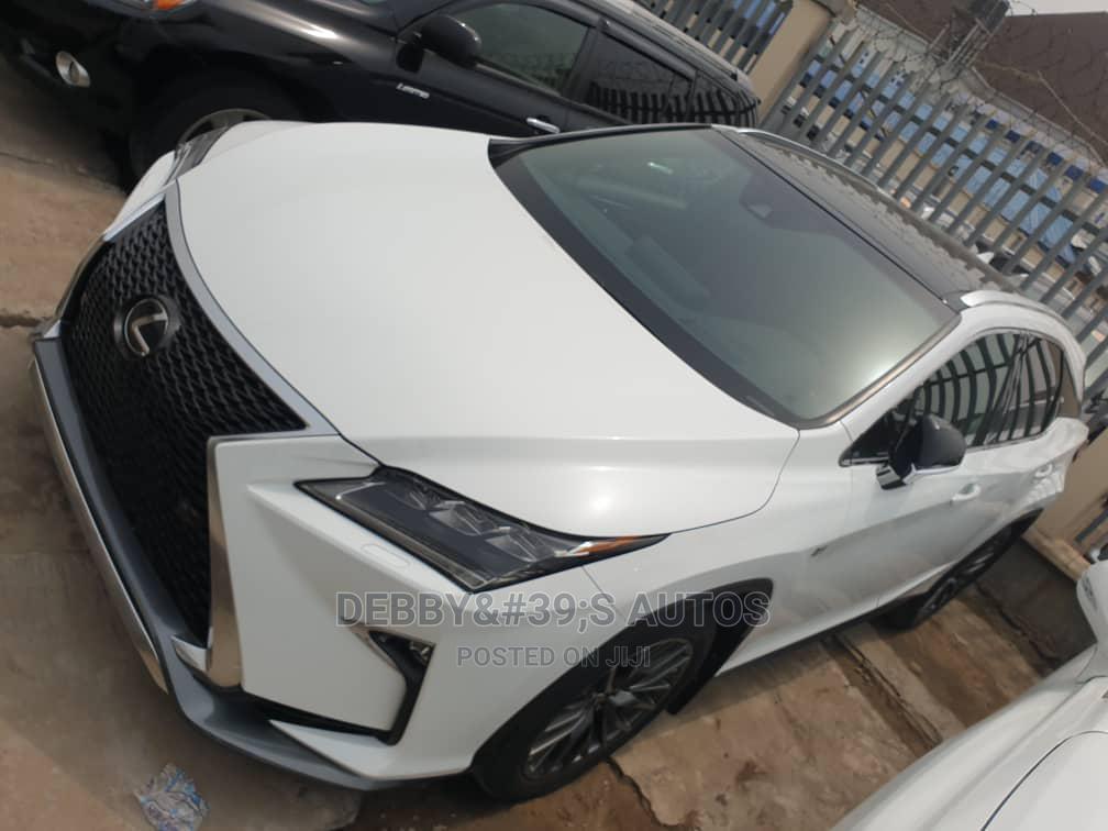 Lexus RX 2019 350  F Sport AWD White