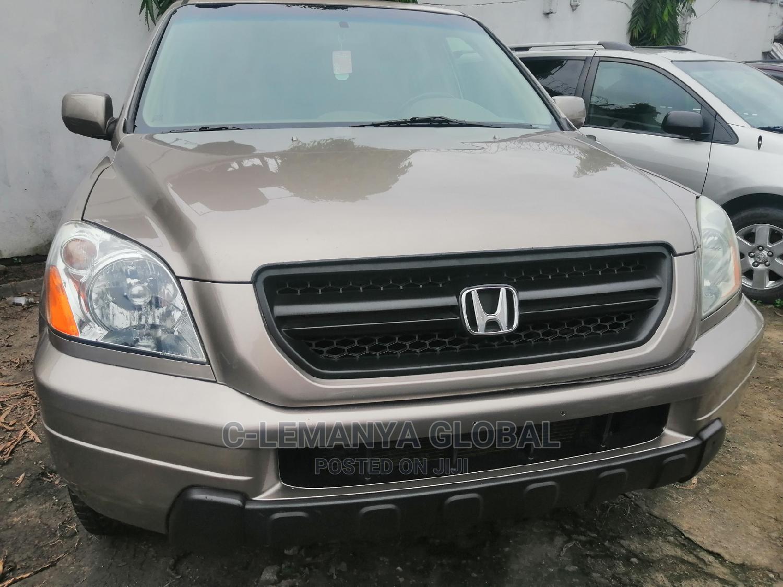 Honda Pilot 2005 LX 4x4 (3.5L 6cyl 5A) Gold