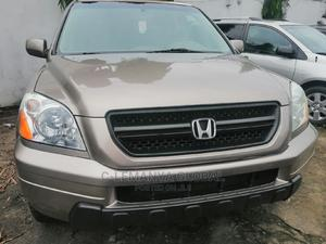 Honda Pilot 2005 LX 4x4 (3.5L 6cyl 5A) Gold | Cars for sale in Rivers State, Port-Harcourt