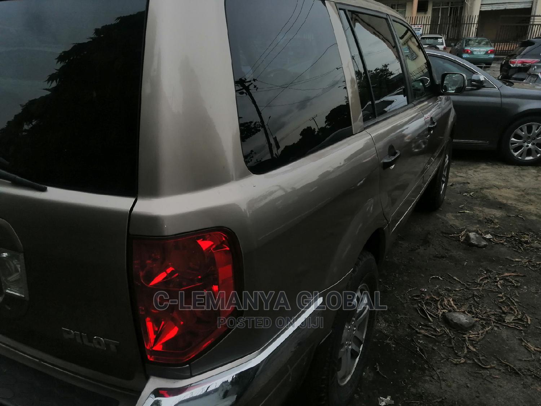 Honda Pilot 2005 LX 4x4 (3.5L 6cyl 5A) Gold | Cars for sale in Port-Harcourt, Rivers State, Nigeria