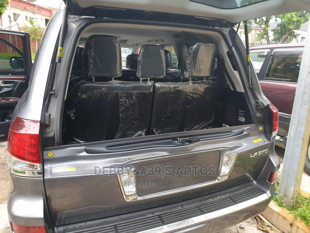 Lexus LX 2014 570 Base Gray | Cars for sale in Ajah, Lagos State, Nigeria