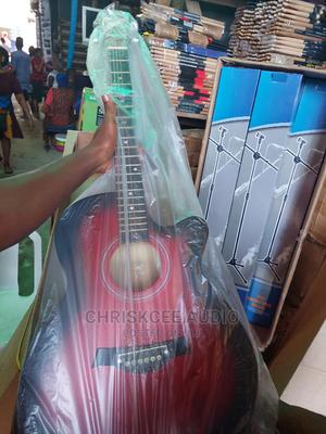 Acoustic Box Guitar 39inchs   Musical Instruments & Gear for sale in Lagos State, Ojo