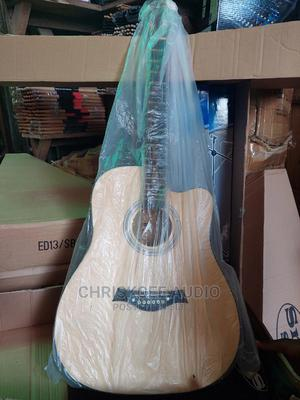 Acoustic Box Guitar Jombo Size 41 | Musical Instruments & Gear for sale in Lagos State, Ojo