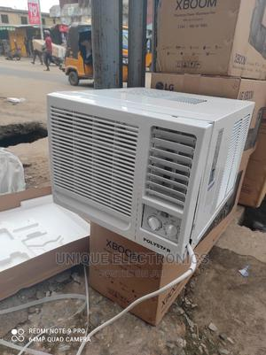 Brand New Polystar 1hp Window Unit Double Cooling +R410A   Home Appliances for sale in Lagos State, Ojo