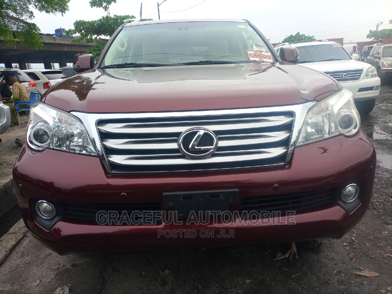 Lexus GX 2012 460 Red | Cars for sale in Apapa, Lagos State, Nigeria