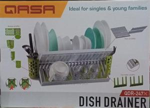 Qasa Rustless 2 Tier Plastic Dish Drainer and Plate Rack   Kitchen & Dining for sale in Lagos State, Lagos Island (Eko)