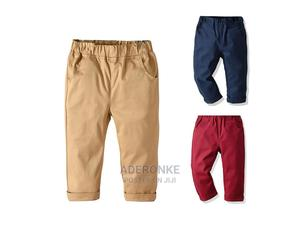 Boys Elastic Chino Pants | Children's Clothing for sale in Lagos State, Ikeja