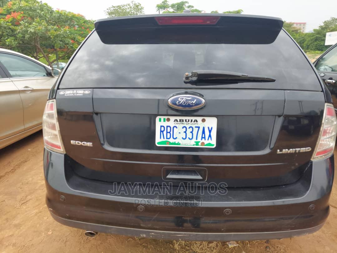 Ford Edge 2007 SE 4dr FWD (3.5L 6cyl 6A) Black   Cars for sale in Jabi, Abuja (FCT) State, Nigeria