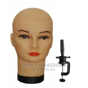 Plastic Mannequin Head With Clamp for Wig Making | Hair Beauty for sale in Lagos State, Ikeja