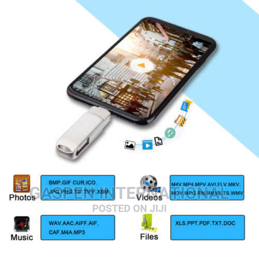 OTG Flash 2in1 Drive 64GB and 32GB | Accessories for Mobile Phones & Tablets for sale in Amuwo-Odofin, Lagos State, Nigeria