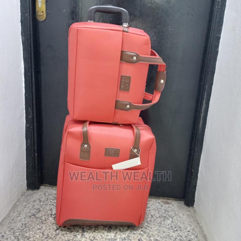 Bethelmendels Red Trolley Luggage