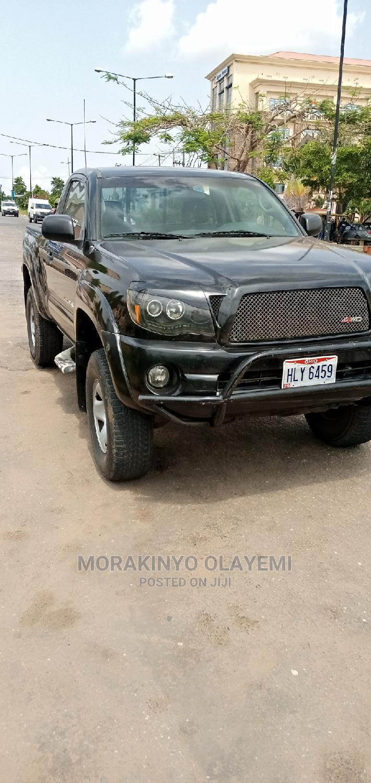 Toyota Tacoma 2006 Regular Cab Black | Cars for sale in Ikeja, Lagos State, Nigeria