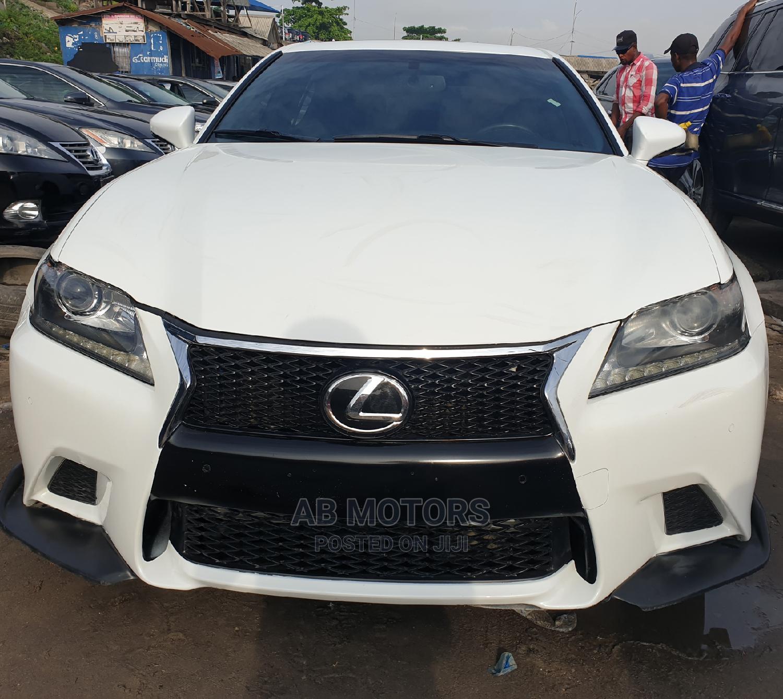 Lexus GS 2014 White