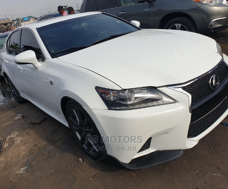 Lexus GS 2014 White   Cars for sale in Apapa, Lagos State, Nigeria
