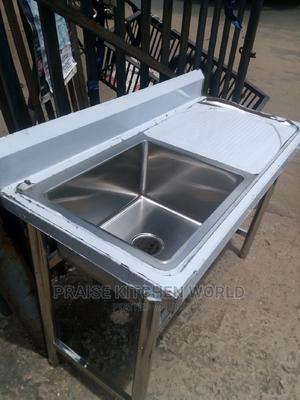 Single With Side Washing Sink Stanliess Steel | Restaurant & Catering Equipment for sale in Lagos State, Ojo