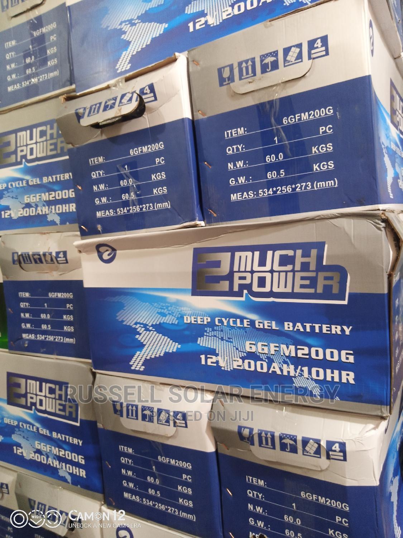 Archive: 12v 200ahs 2much Power Solar Battery