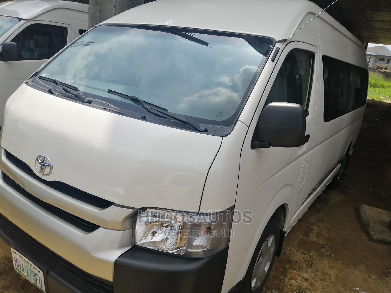Toyota Hiace 2014 White | Buses & Microbuses for sale in Port-Harcourt, Rivers State, Nigeria