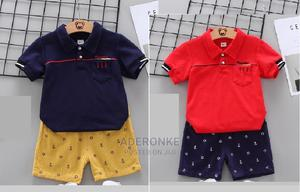 2 Piece Designer Lookalike Clothing Set - 2 Options | Children's Clothing for sale in Lagos State, Ikeja