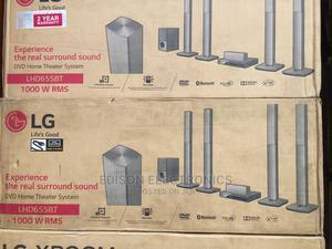 Lg 4 Long Speakers 1000 Watts   Audio & Music Equipment for sale in Lagos State, Lagos Island (Eko)