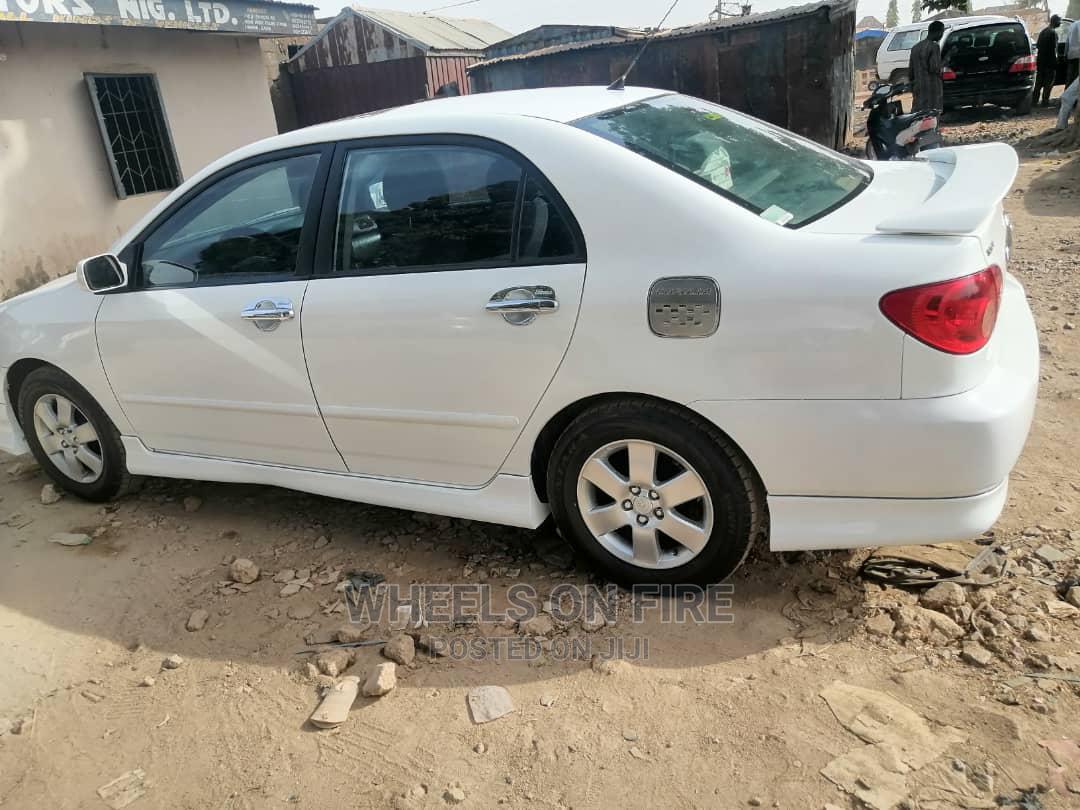 Toyota Corolla 2006 S White | Cars for sale in Gwarinpa, Abuja (FCT) State, Nigeria
