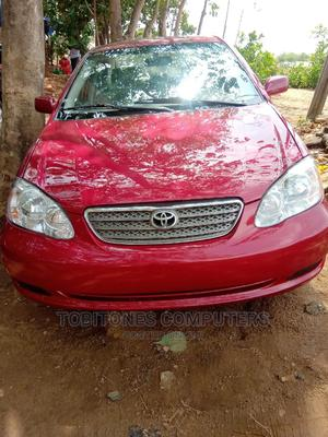 Toyota Corolla 2007 Red   Cars for sale in Abuja (FCT) State, Wuse