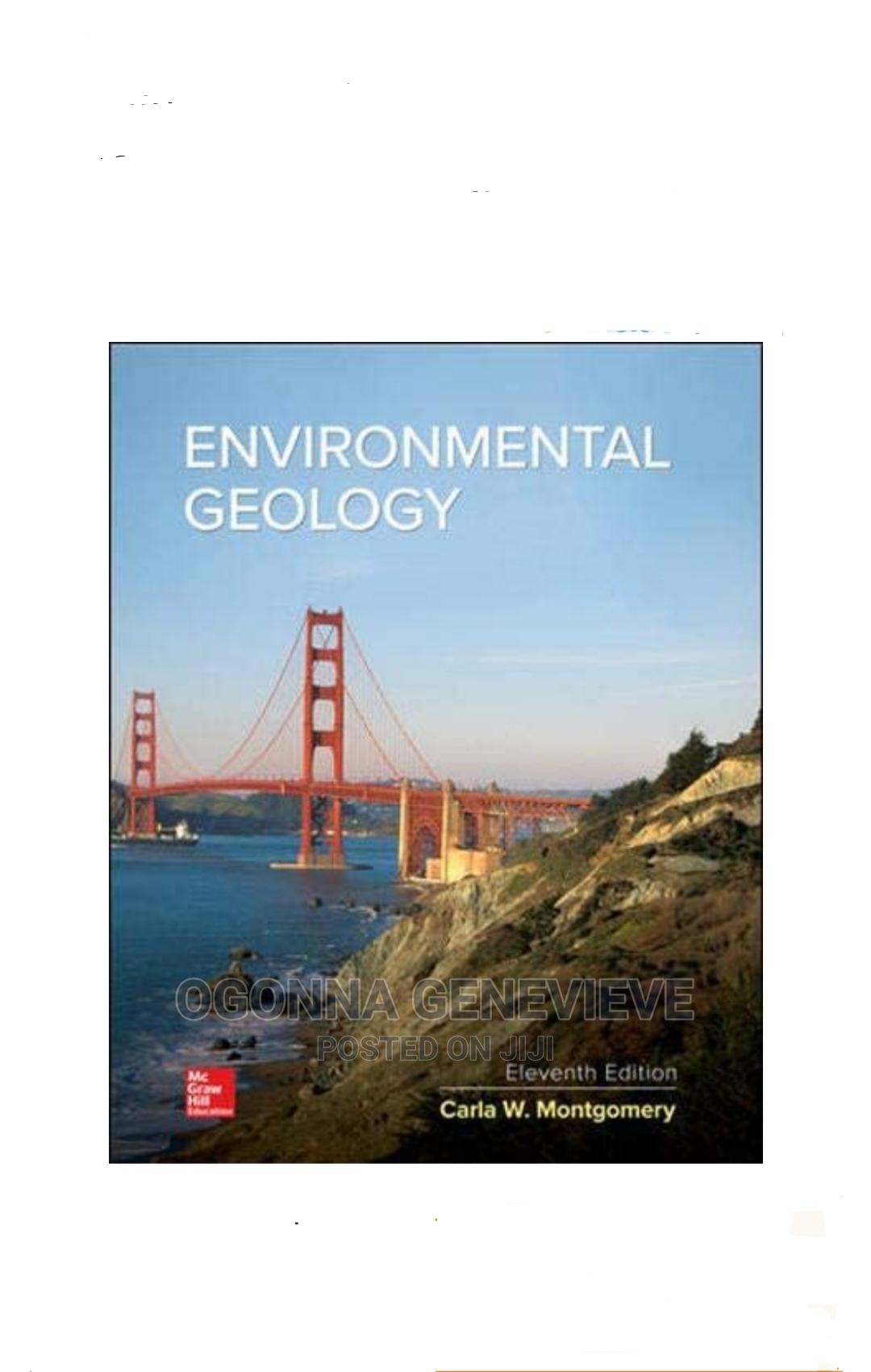 ENVIRONMENTAL GEOLOGY by Montgomery 11 Edition