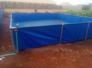 Mobile Tarpaulin Fish Tanks | Farm Machinery & Equipment for sale in Lagos State, Ikorodu