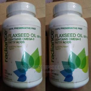 Radiance Flaxseed Oil With Omega-3 Fatty Acids   Vitamins & Supplements for sale in Enugu State, Enugu