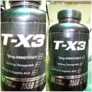 T-X3 for Men's Testosterone and Libido 3550mg | Sexual Wellness for sale in Enugu State, Enugu