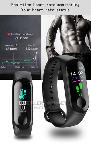 Smart Bracelet M3   Smart Watches & Trackers for sale in Lagos State, Ikeja