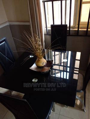 Tempered Glass Dining Table and Chairs   Furniture for sale in Delta State, Oshimili South