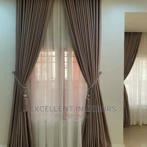 Plain Velvet Curtain | Home Accessories for sale in Lagos State, Ojo