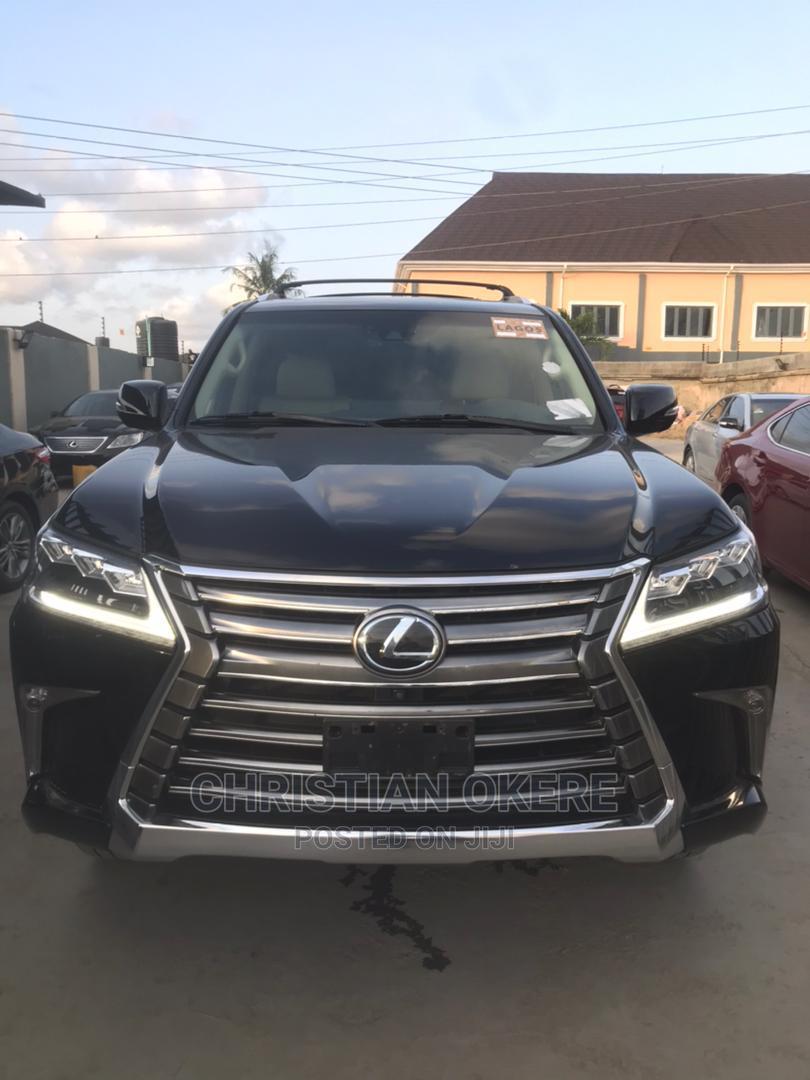 Lexus LX 2018 Black