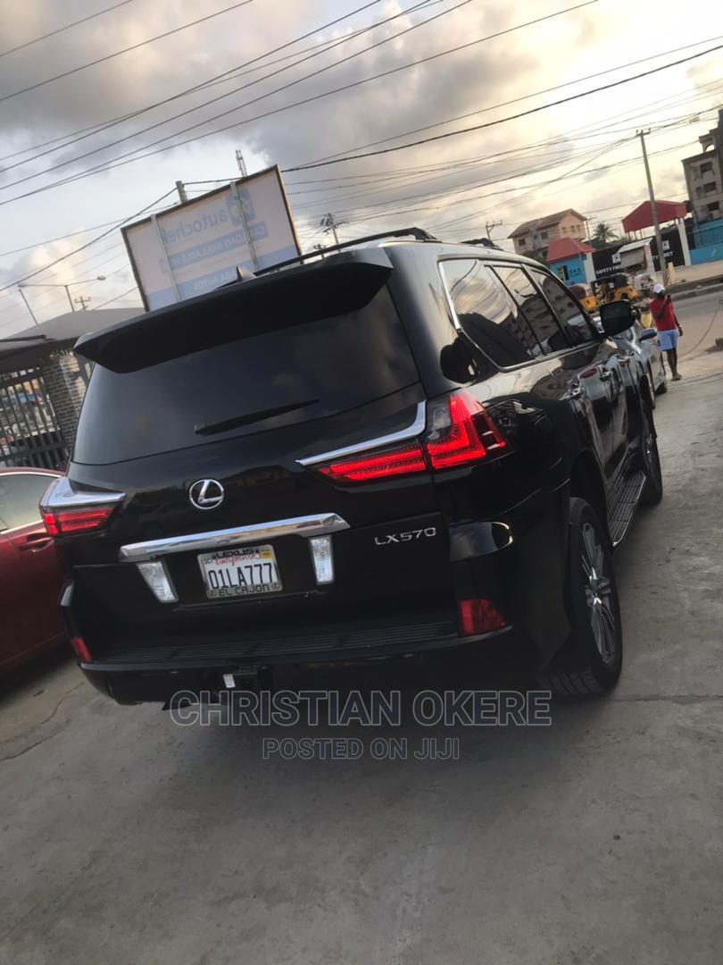 Lexus LX 2018 Black   Cars for sale in Alimosho, Lagos State, Nigeria