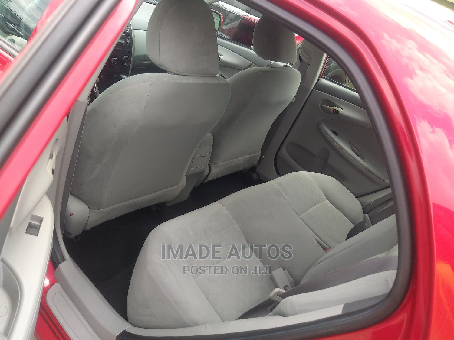 Toyota Corolla 2010 Red | Cars for sale in Agege, Lagos State, Nigeria
