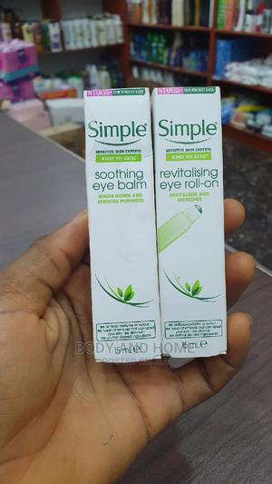 Simple Soothing Revitalizing Eye Roll on and Balm 15ml   Skin Care for sale in Lagos State, Surulere